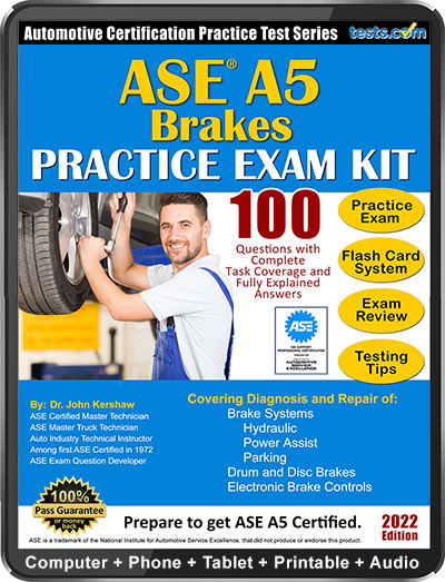 ASE A5 Brake Systems Practice Test