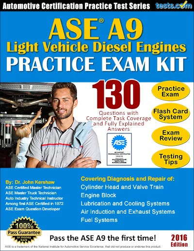 ase practice test a9 answers tests diesel pass kit engine exam questions explained ideal fully study complete using answer