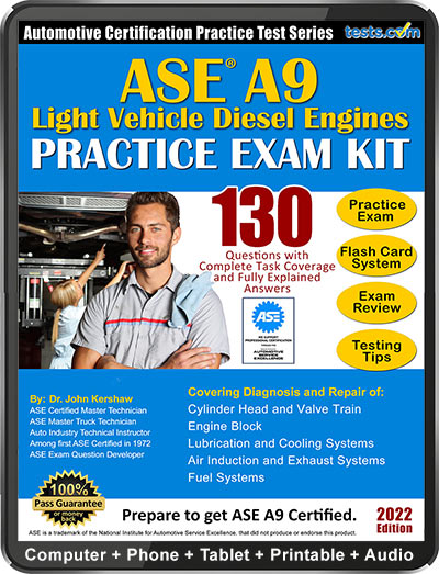 ASE A9 Practice Test Kit