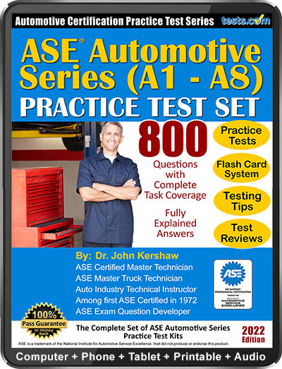 ASE Automotive Series Practice Tests