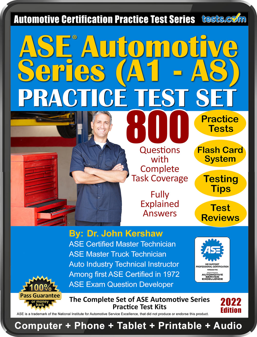 Ase Automotive Certification Series Practice Tests