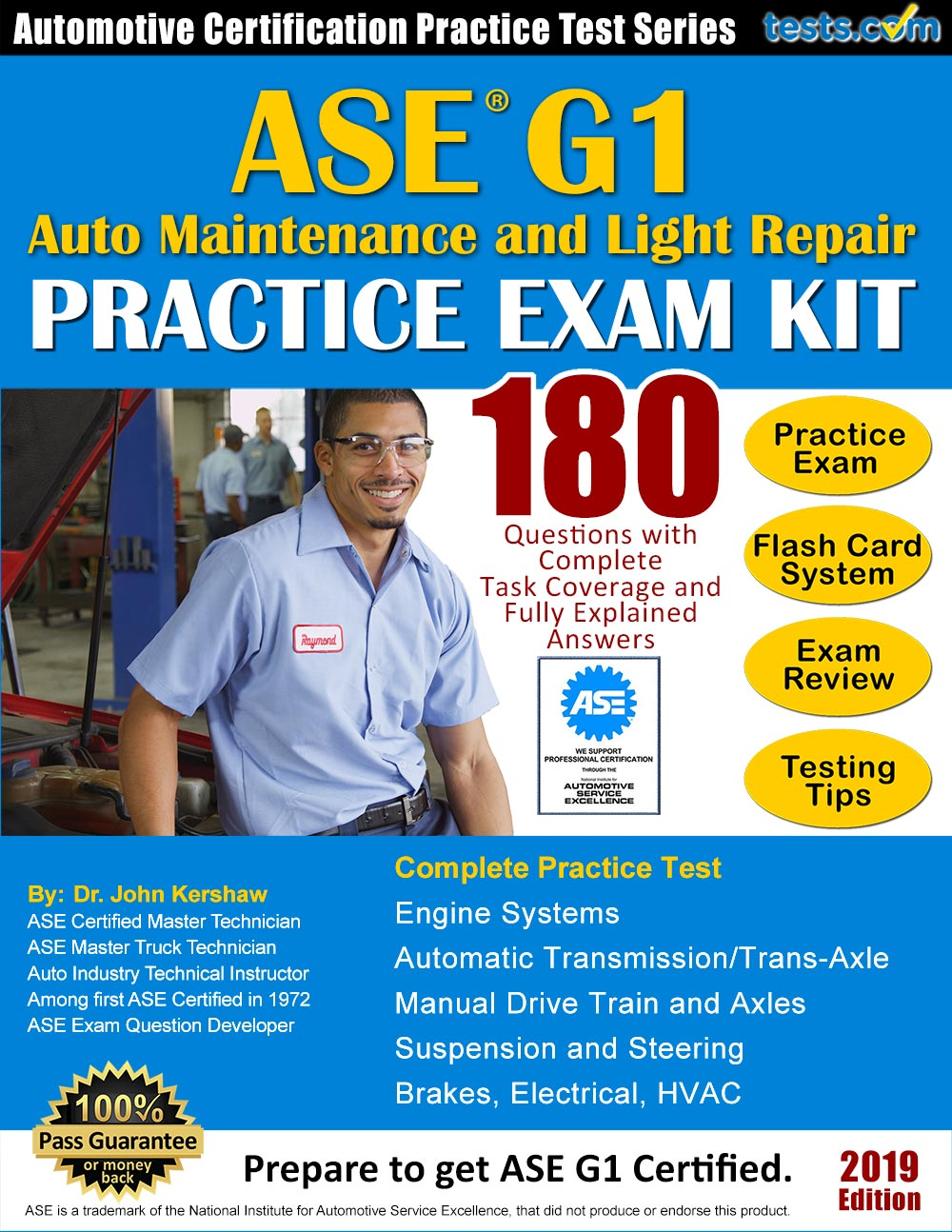 Ase G1 Auto Maintenance And Light Repair Practice Test