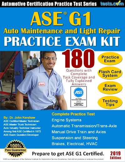 ASE G1 Engine Repair Practice Test