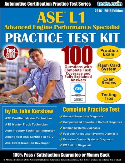 ase l1 test practice engine pass advanced performance specialist answers kit questions explained ideal fully study complete using