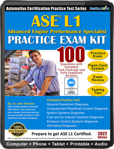 ase l1 test practice tests answers a2 questions advanced performance engine kit specialist certification expert study sample exam explained ideal
