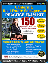 California Real Estate Agent Exam (CalDRE)