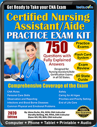 CNA - Certified Nursing Assistant - Aide Practice Exam