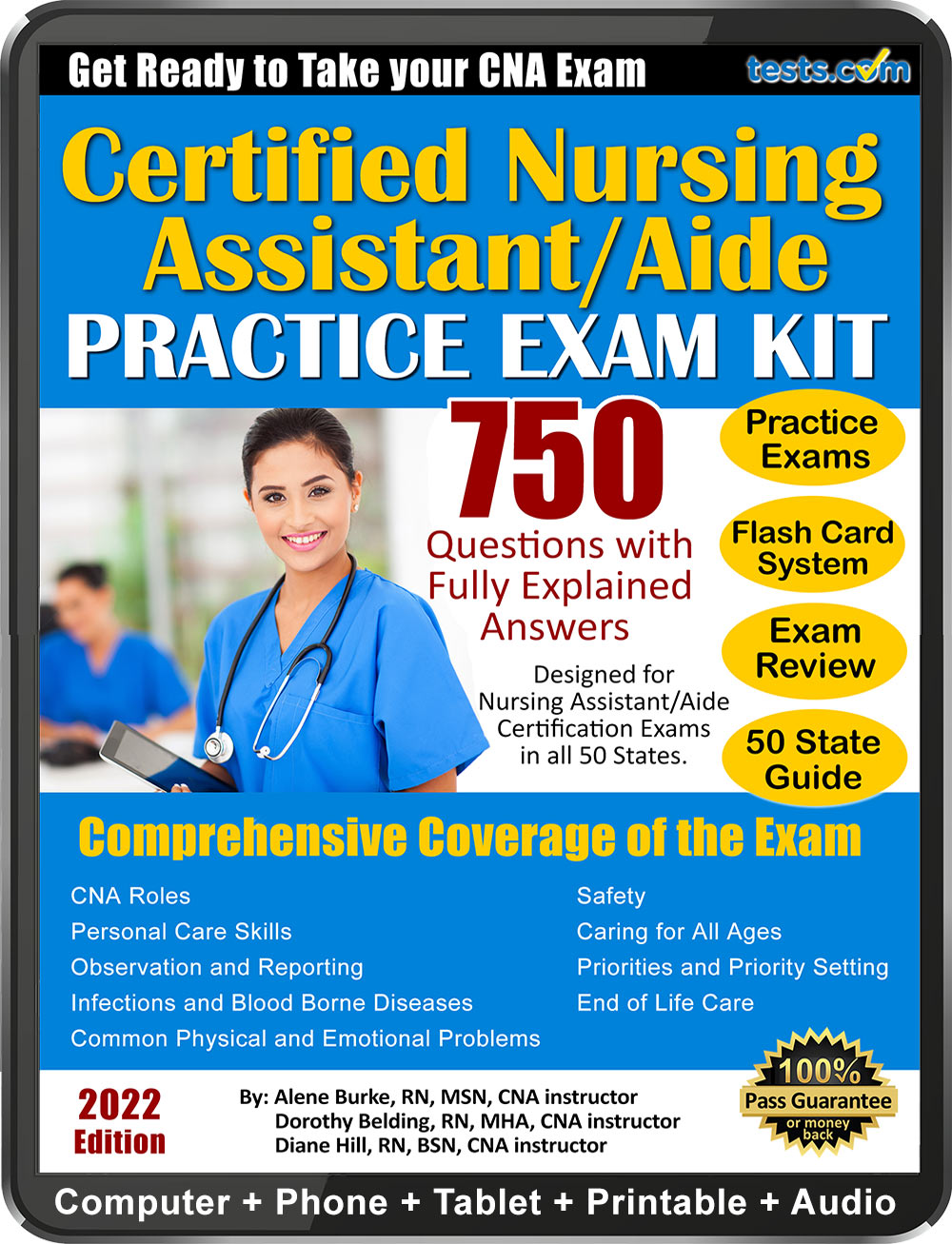 Certified nurse assistant aide cna practice exam certified nursing assistant aide cna exam xflitez Images
