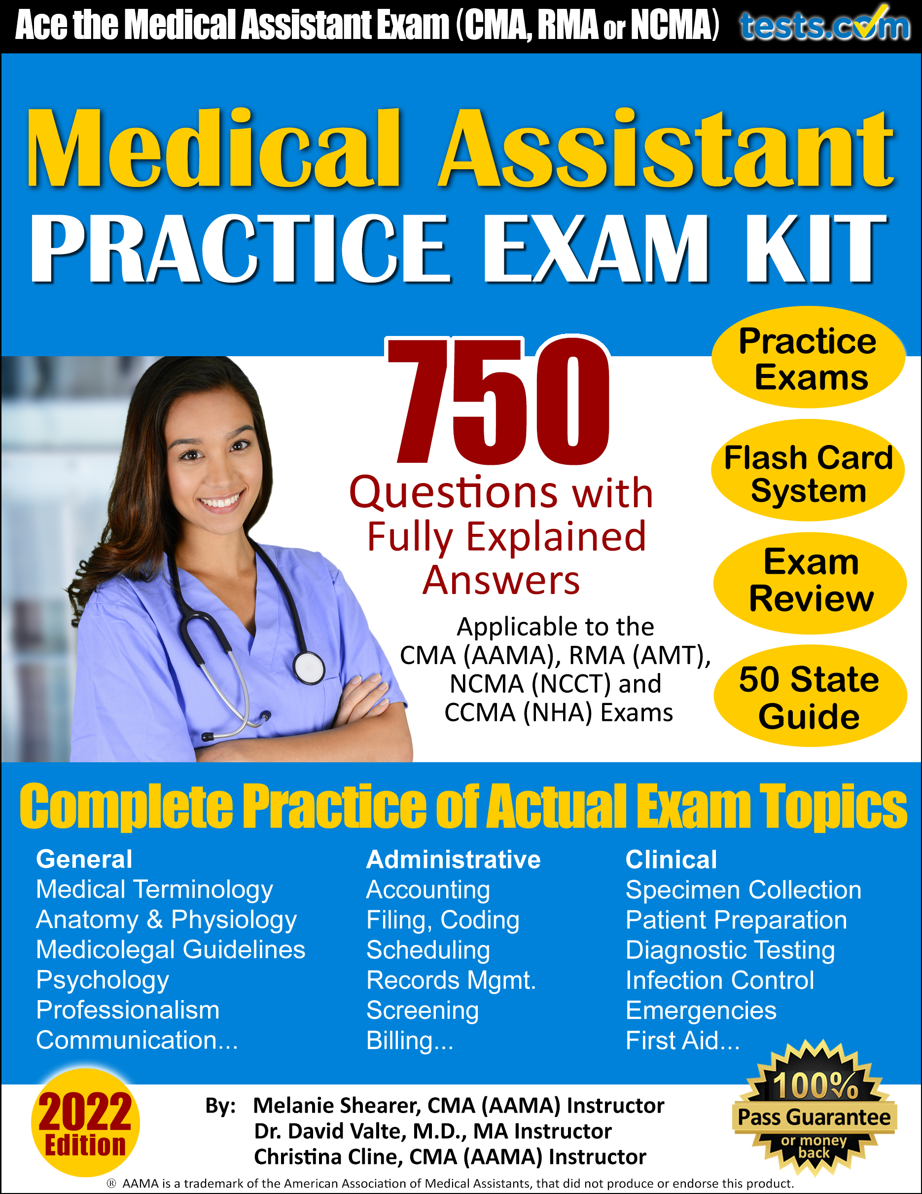 medical assistant skills test