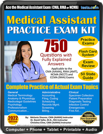 Medical Assistant subject for study