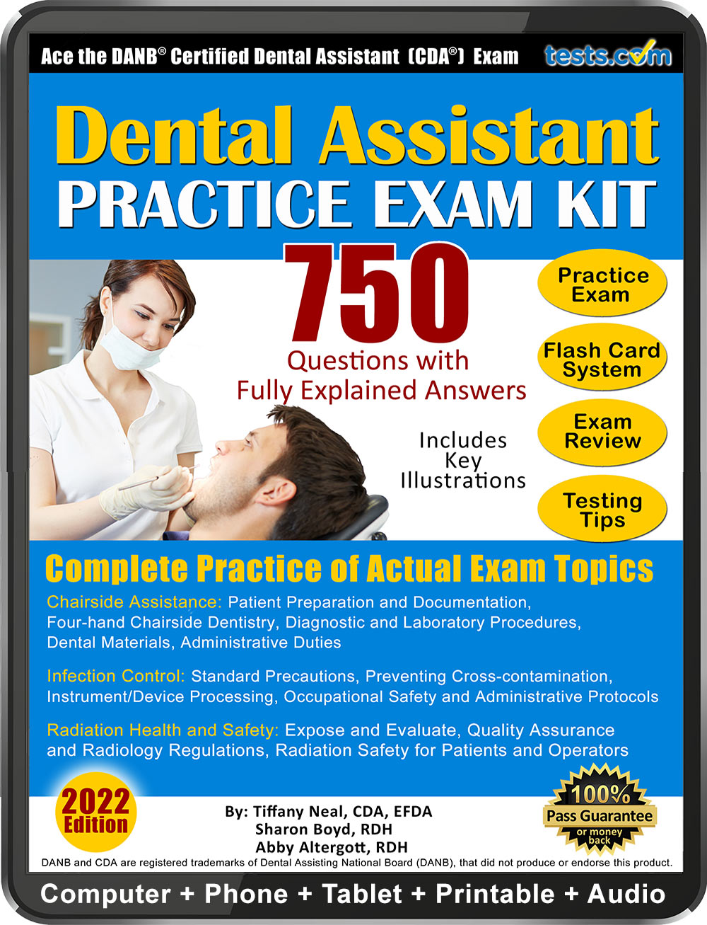 Practice exam kit for the certified dental assistant cda exam cda practice test malvernweather Images