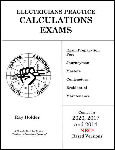 Electrician's Practice Calculations Book
