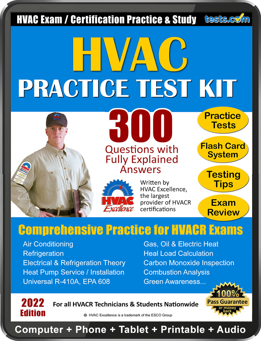 Florida state certified class a air conditioning contractor and epa - Hvacr Practice Test Kit
