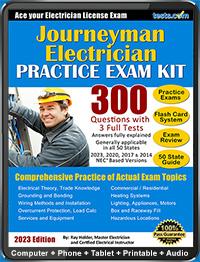 Journeyman Electrician Practice Test (2019 Current)