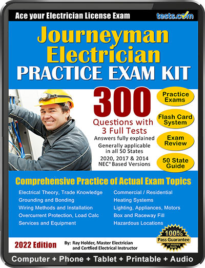 Journeyman Electrician Practice Test (2019 Current)