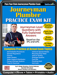 Journeyman Plumber Practice Test Questions