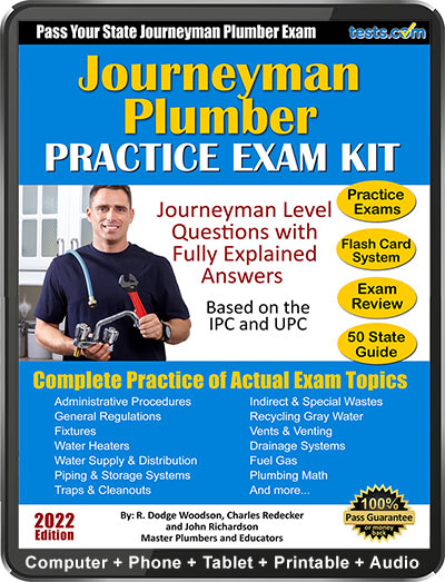 Practice Exam - Journeyman Plumber Test