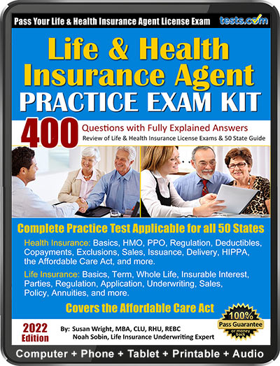 Life and Health Insurance Agent Exam