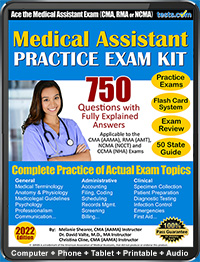 Medical Assistant Practice Test - 2019 Current, Explained Answers