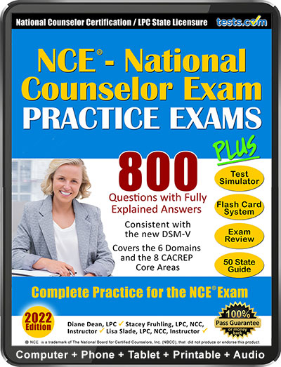 National Counselor Exam (NCE) Practice Questions - 2019 Current