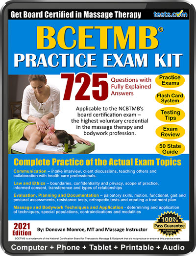 NCBTMB Massage Practice Exam