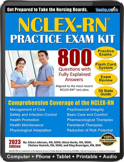 NCLEX Practice Exam Kit