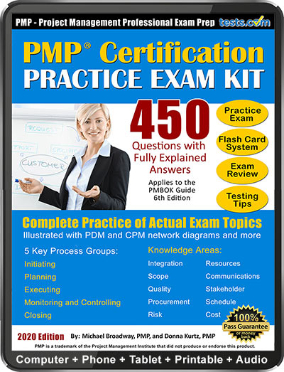Project Management PMP Practice Exam