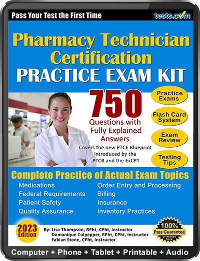 Pharmacy Technician Practice Exam