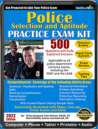 Police Exam, Police Officer Test (2019 Current)