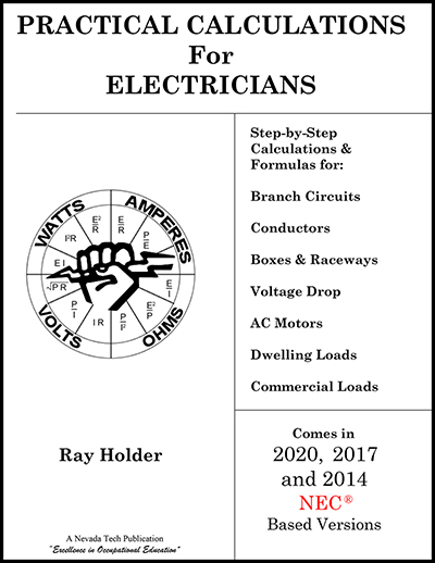 Electrician S Practice Calculations Book