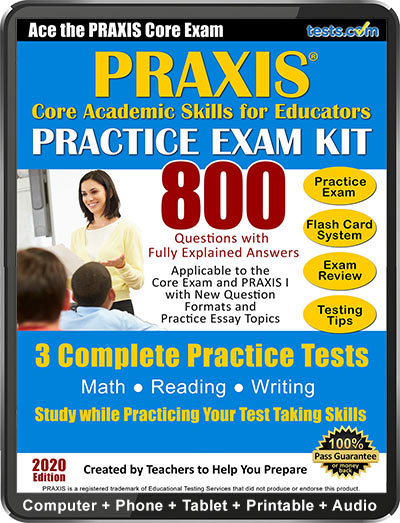 image relating to Praxis 1 Practice Test Printable identified as Free of charge PRAXIS I Coach Check out (2019 Latest)