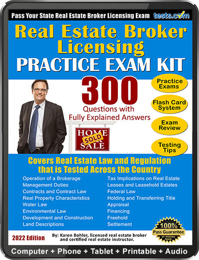 Real Estate Broker License Practice Test