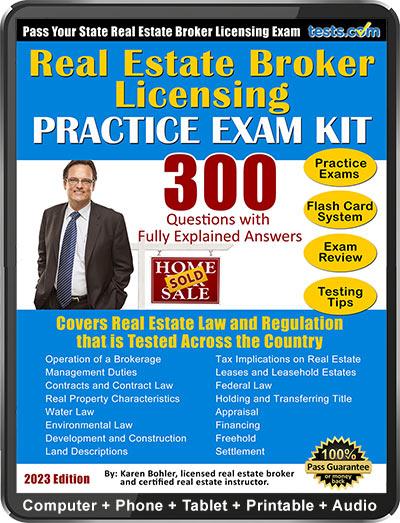 Real Estate Broker Practice Test