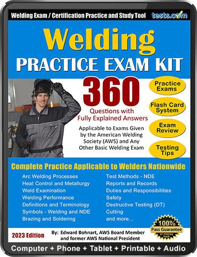 Welding Practice Exam