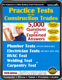 Construction Trades Practice Tests